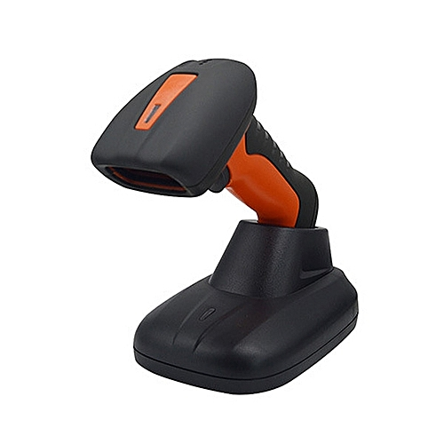 FJ-1208 Laser Barcode Scanners POS Handy Portable Barcode Reader With Base