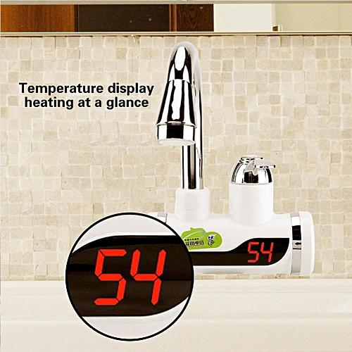 Instant Hot And Cold Water Dispenser Heater Heating Faucet With Temperature Display # 2