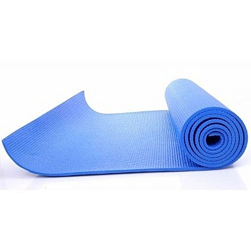 Yoga Fitness Exercise Mat - Blue