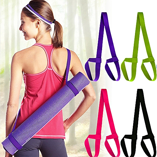 Yoga Mat Straps With Yoga Straps Exercise Mat Straps Rope Two-way Elastic