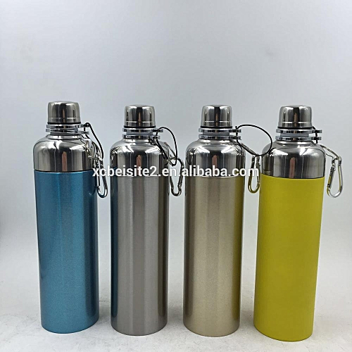 Stainless Steel Silicone Vacuum And Thermo Flask