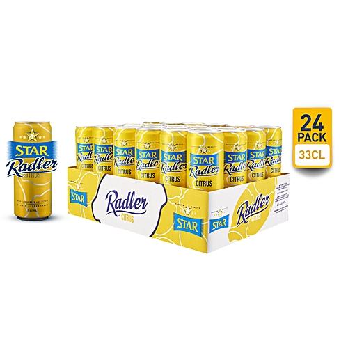 Radler Beer - 33cl Can X 24