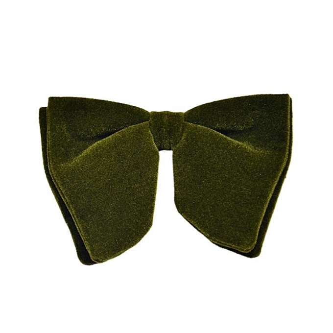 Buy indulgence classic butterfly bow tie army green best price classic butterfly bow tie army green ccuart Images