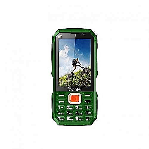 Bontel TV Touch- 3.5 Inch Touch Screen TV Phone, 15,000 Mah, Power Bank - Green