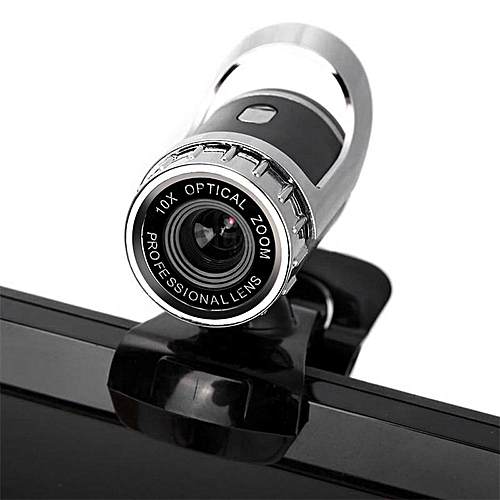 Web Camera USB 2.0 360 Degree Webcam With Sound Absorption Microphone For Computer PC Laptop