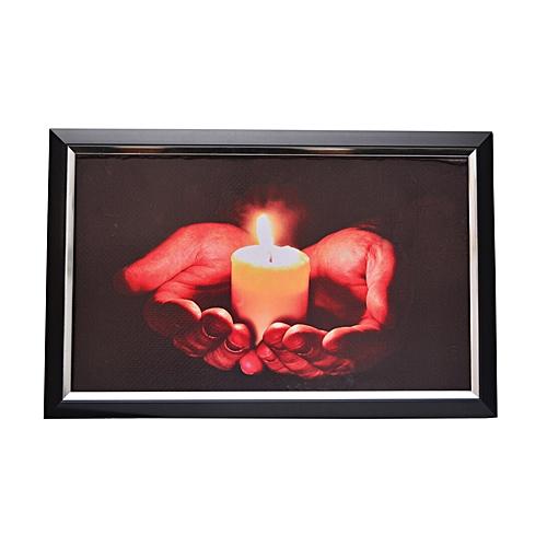 Candle Light Art Frame