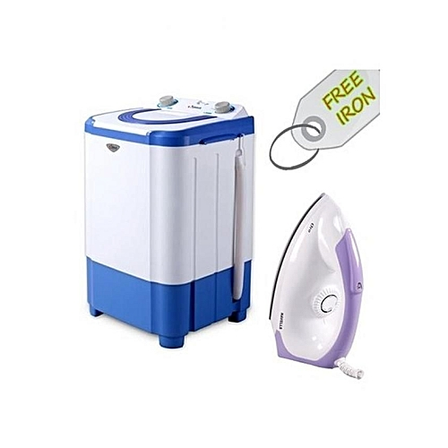 Washing Machine - 3kg + Free Iron