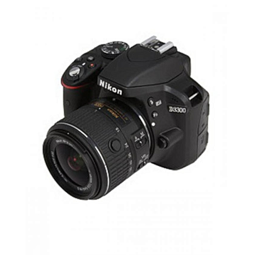 D3300 DSLR Camera With 18-55mm Lens VR-II - Black