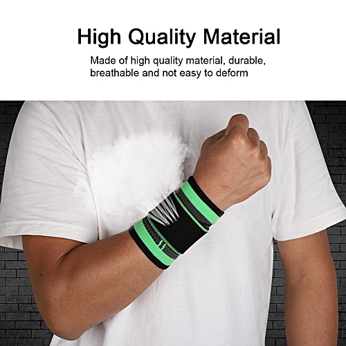 c06c0693de Generic Adults Breathable Wrist Guard Support Brace Strap For  Outdoor/Indoor Sports (L)