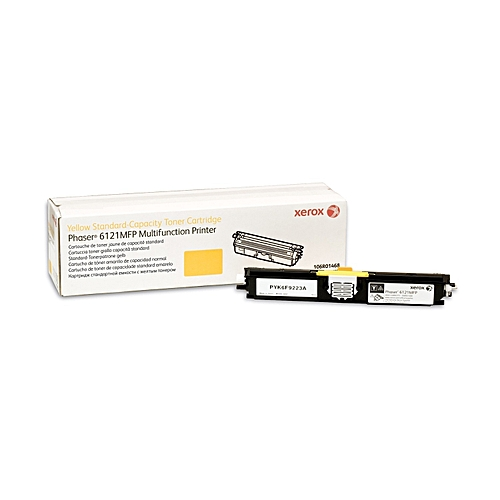 Xerox Phaser 6121Mfp, Standard Capacity Yellow Toner Cartridge (1500 Pages) (106R01465)