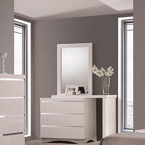 Dresser And Mirror - White