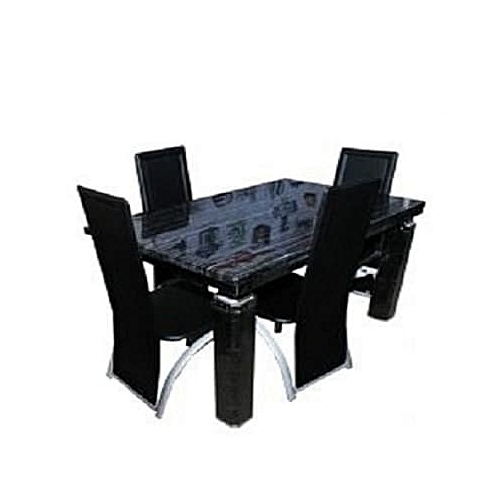 Oxlyn Marble Dining Table & Chairs(Delivery Within Lagos & Ogun Only)