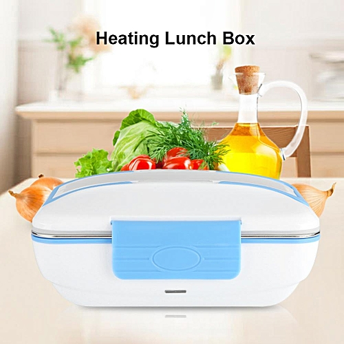 Minxin Electric Heating Lunch Box Stainless Steel Food Container- 220V EU Plug