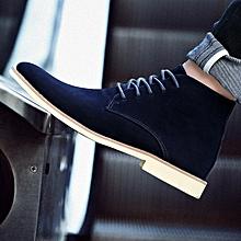EUR 39-46 Men Chelsea Boots Fashion Men's Suede Leather Ankle