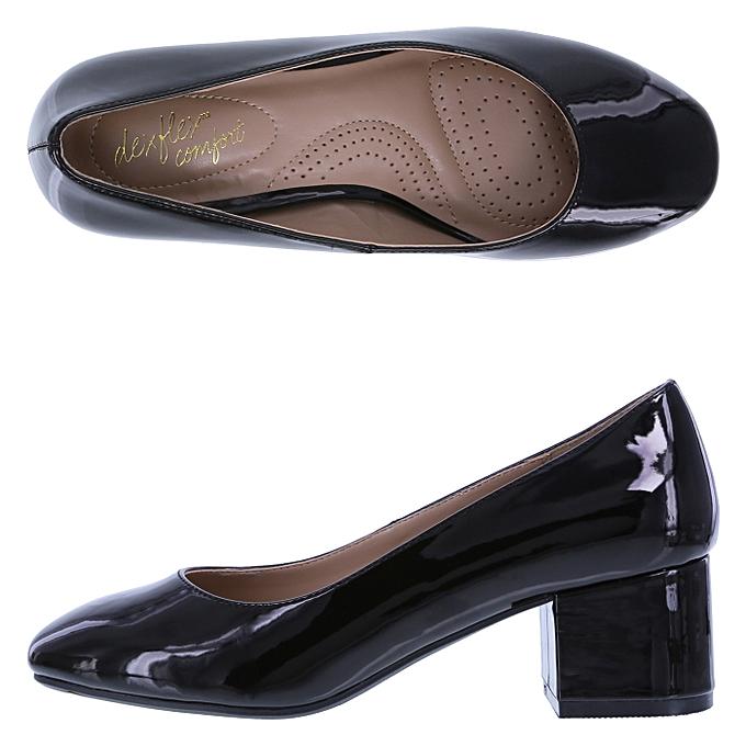 1f5e8bd1ffa5 Dexflex Comfort Women s Klue Low Block Heel Comfort Office Shoe ...