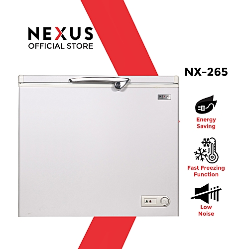200 Litre Chest Freezer NX-265 - White