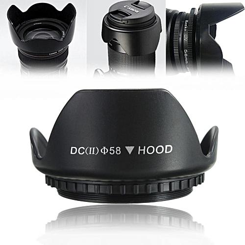 58mm Upgraded Lens Hood For Canon 700D 100D 650D 600D 550D 1200D 1100D 18-55mm