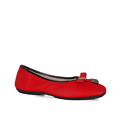 Fashionable Women's Shoe In Red