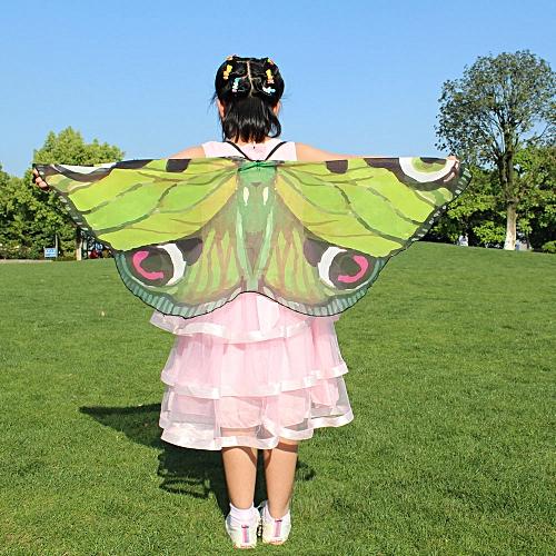 Child Kids Boys Girls Bohemian Butterfly Print Shawl Pashmin