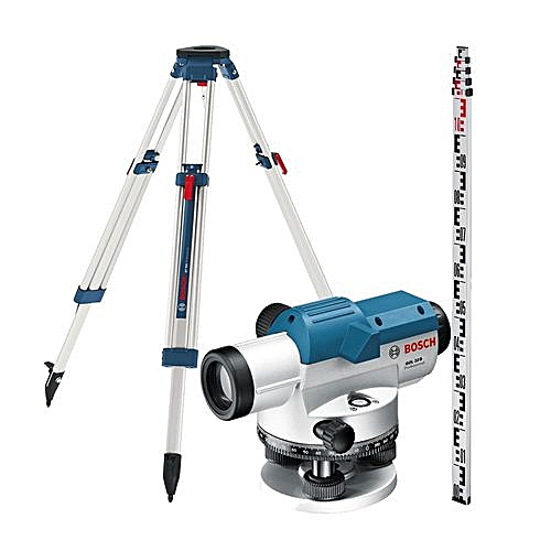 GOL 32 D SET PROFFESIONAL Optical Level And BT160 Tripod And GR500 Level Rod