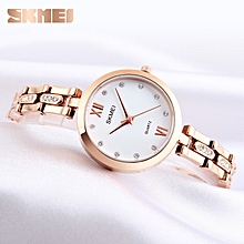 Watches For Women Quartz Wristwatches Elegant Stylish Rhinestones Scale Waterproof Ladies Watches