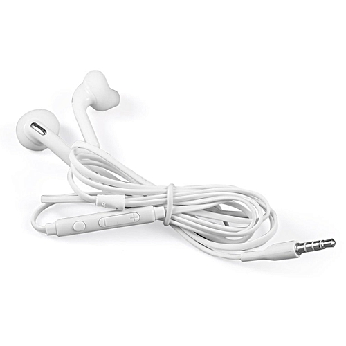 OR Sound Clarity Convenient And Light Fashionable Design Earphone For Samsung S6-White