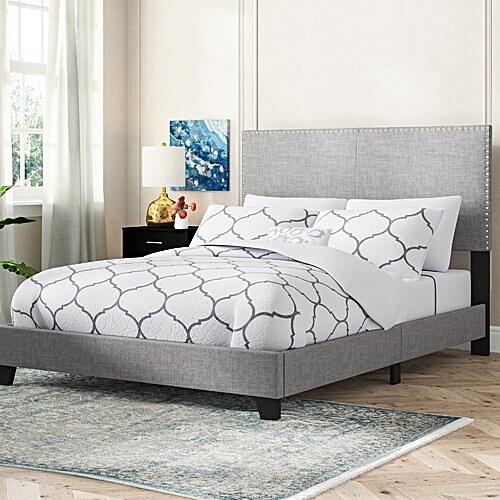Bedroom Furniture Templeton 6ft Upholstered Bedframe