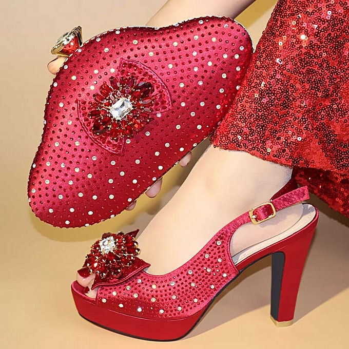 5a1ddbd2d80 ... Nice Looking Yellow High Heels Italian Shoe With Matching Bags Wedding  Italy Woman Shoes And Bags ...