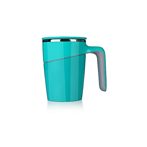 Suction Mug Spill Free Stainless Steel Insulated Mug - Green