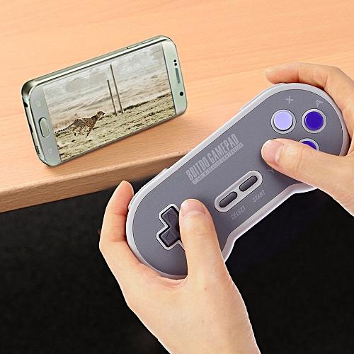 8Bitdo sn30 Gamepad Game Controller Wireless Compact Joystick-purple