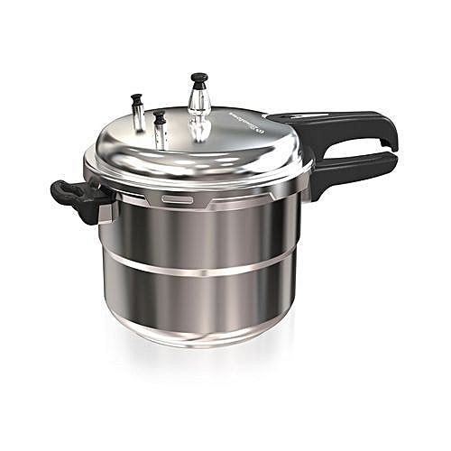 Pressure Cooker - 5LITRES - Silver