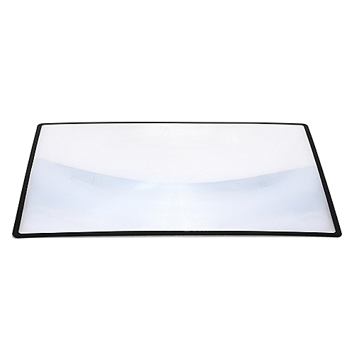 A5 Flat PVC Magnifier Sheet X3 180X120mm Book Page Magnifying Reading Glass Lens