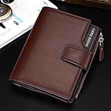 31e1d6fb8100 Men Fashion Multi-function Business Leather Wallet Wallet Purse