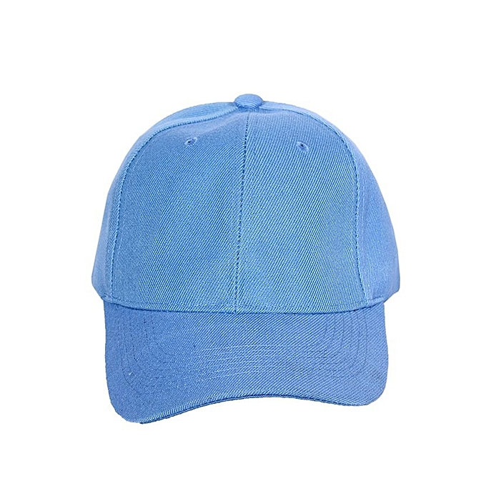 Fashion Plain Quality Face Cap - Skye Blue  0ca9ddfc35d