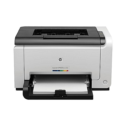LaserJet Pro CP1025NW Color Printer- White