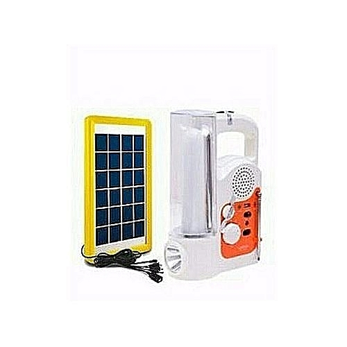 Rechargeable Lamp+ Solar Panel