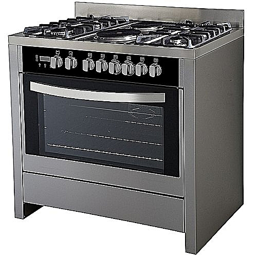 Scanfrost Gas Cooker (4 Gas 2 Electric Cooker)