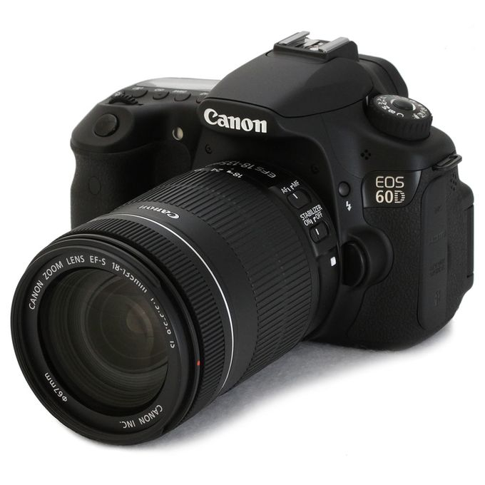 Canon EOS 60D DSLR Professional Camera + 18 - 135MM Lens | Buy ...