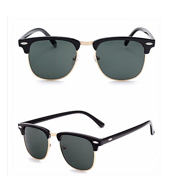 8ea56951140d Fashion Clubmaster Sunglasses- Black