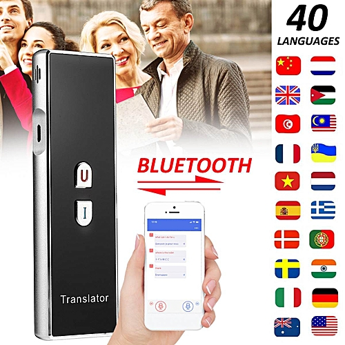 Smart Voice Translator 40 Languages Translation Instant Traductor Outdoor Portable Language Translator For Business ASQOA