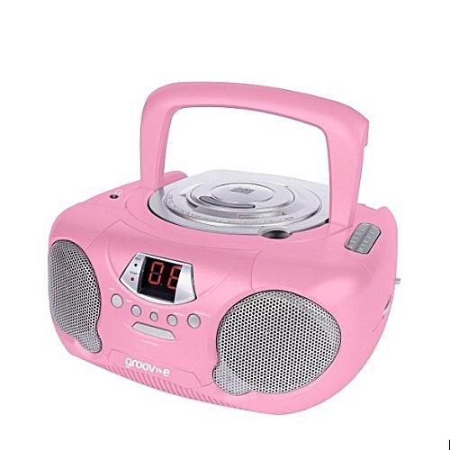 Boombox Portable CD Player With Radio & Headphone Jack
