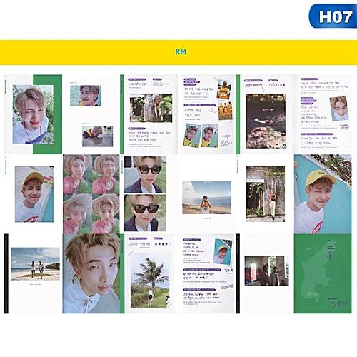 Eleganya 1 PC Kpop BTS Members Fashion Self Made Photo Album