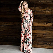 b227d0634d6bb Women Floral Printed Dresses Midi Dress