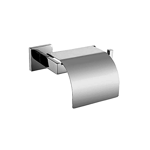 Home Kitchen Wall Mounted Bathroom Rest Room Toilet Paper Tissue Box Lid Cover Towel Holder
