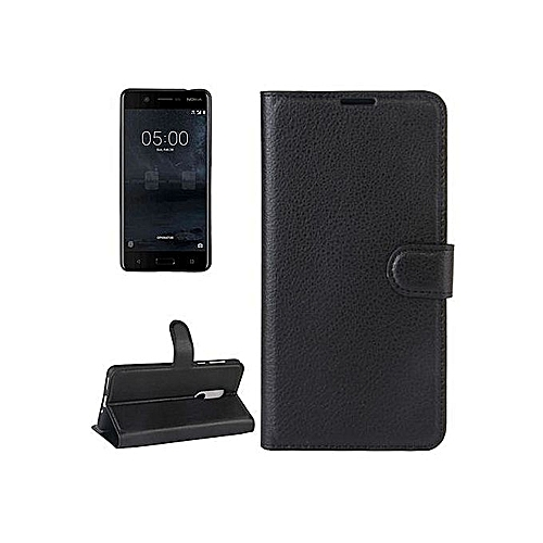 info for 9787c 0f172 Nokia 2 Leather Flip Case Black