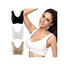 1a20b8a1f4c 3 In 1 Seamless Support Bra - Colors And Patterns May Varies