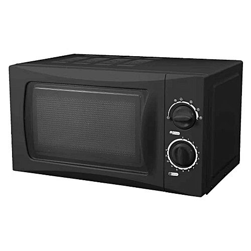 20L Speedy Defrost Microwave Oven- Black
