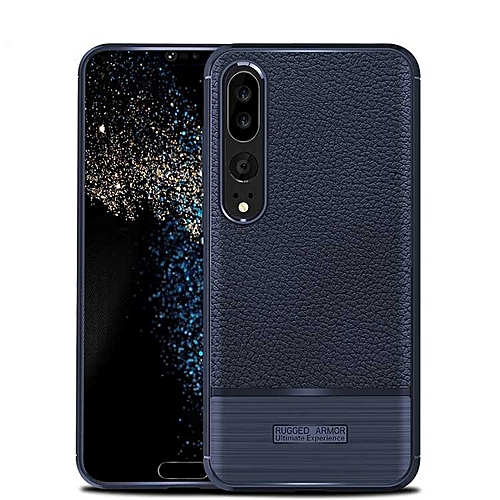 Generic For Huawei P20 Pro Case Luxury Litchi Pattern Soft Case For