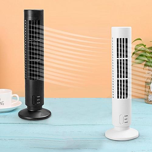 USB Tower-shaped Fan Air-Conditioner Desk Fan
