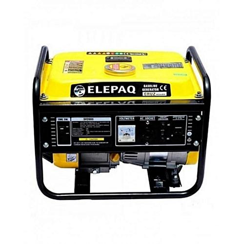 SV2200 1.3KVA Manual Start Generator - Yellow
